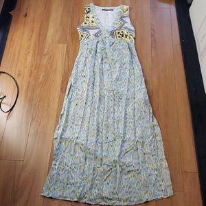 Zara Maxi Slit Dress